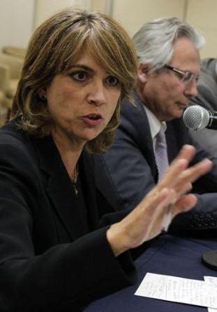 La fiscal Delgado