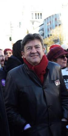 Mélenchon en Madrid