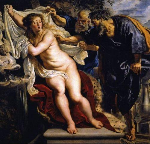 Rubens lo vio así