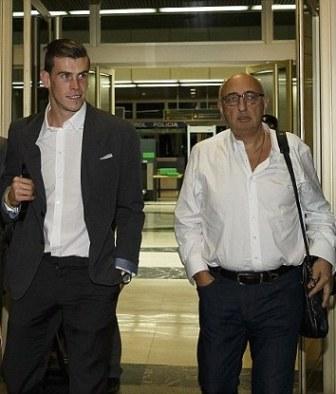 Bale y su manager