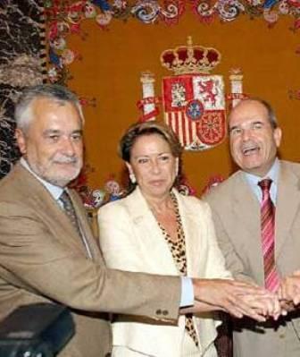 Maleni y sus presidentes andaluces