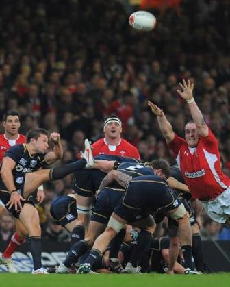 Rugby, patada a seguir