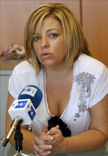 La diputada Valenciano